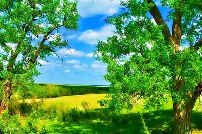 Photograph - Kansas Prairie Spring by Anna Louise