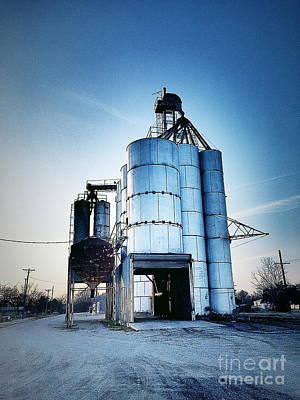 Photograph - Kansas Silo 2 by Jenny Revitz Soper