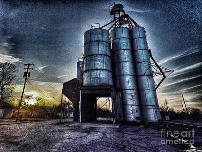 Photograph - Kansas Silo by Jenny Revitz Soper