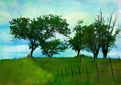 Photograph - Kansas Spring Prairie by Anna Louise