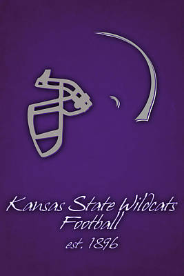 Kansas State Wildcats Art Print by Joe Hamilton