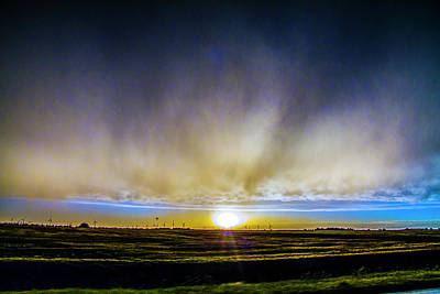 Art Print featuring the photograph Kansas Storm Chase Bust Day 005 by NebraskaSC