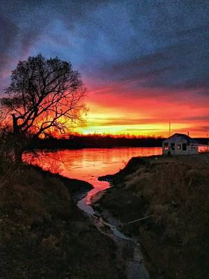 Photograph - Kansas Sunrise by Dustin Soph