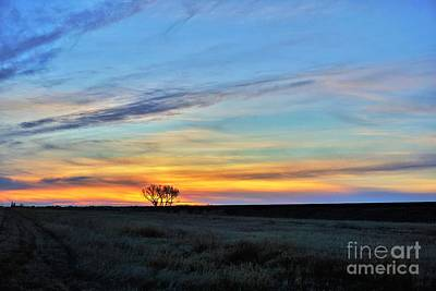 Kansas Sunrise1 Art Print