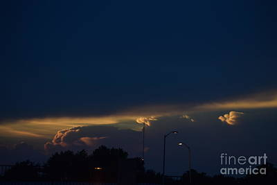 Photograph - Kansas Sunset Angel by Mark McReynolds
