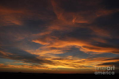 Photograph - Kansas Sunset by Anjanette Douglas