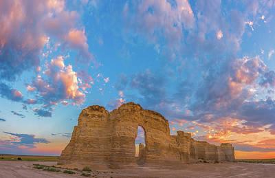 Kansas Sunset Print by Darren White