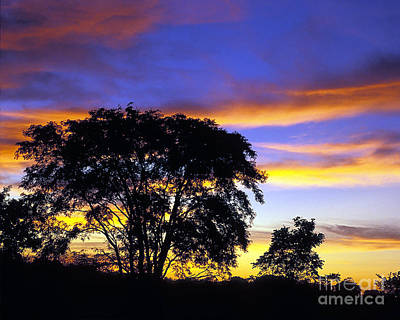 Kansas Sunset1 Art Print