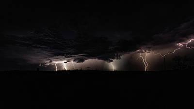 Photograph - Kansas Thunderstorm by Jay Stockhaus