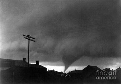 Photograph - Kansas: Tornado, C1902 by Granger