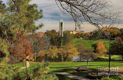 Photograph - Kansas University by Joan Bertucci