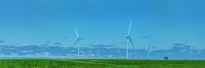 Photograph - Kansas Wind Farm by Mike Braun