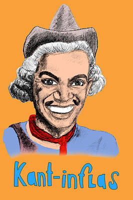 Fundamentalism Drawing - Kant-inflas by Jose Maria Carro Lopez