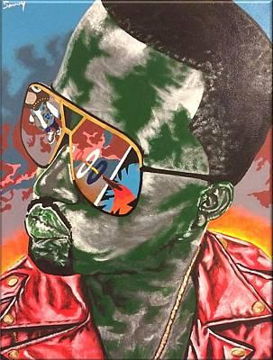 Kanye Visions Art Print by Sammy Snow