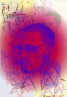 Kanye West Swag  Art Print by HPrince De Artist