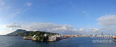 Photograph - Kaohsiung Skyline And Port by Yali Shi