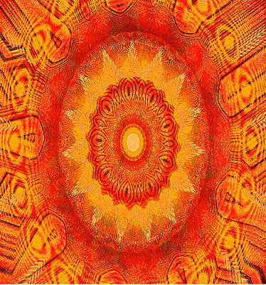 Digital Art - Kaoscope by Fine Art By Andrew David