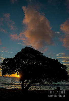 Photograph - Kapaa Sunrise 6100 by Chuck Flewelling