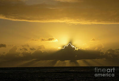 Photograph - Kapaa Sunrise 6788 by Chuck Flewelling