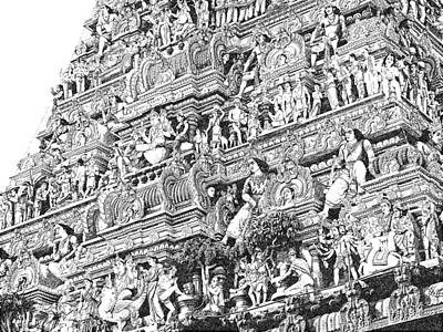 Digital Art - Kapaleeshwarar Temple, Mylapore India by Richard Reeve