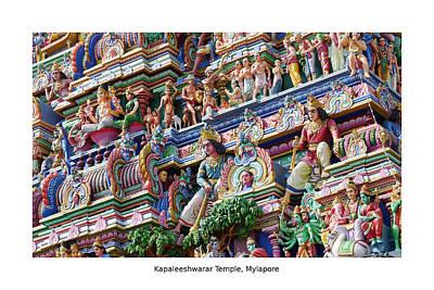 Photograph - Kapaleeshwarar Temple, Mylapore by Richard Reeve