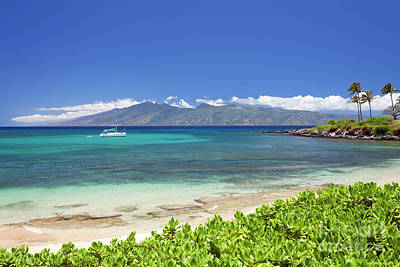 Photograph - Kapalua Bay, Maui by David Olsen