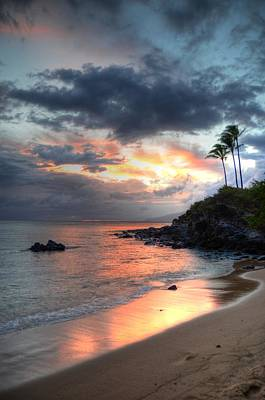 Kapalua Sunset Art Print by Kelly Wade