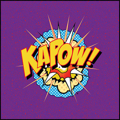 Digital Art - Kapow by Gary Grayson