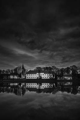 Symmetry Photograph - Kaptol II by Midhat Mulabdic
