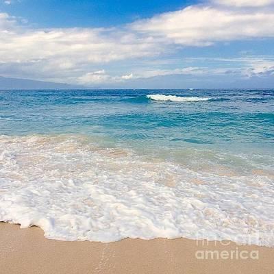 Photograph - Kapukaulua Beach Maui Hawaii by Sharon Mau