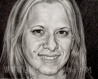 Graduation Gift Drawing - Kara by Gretchen Barota