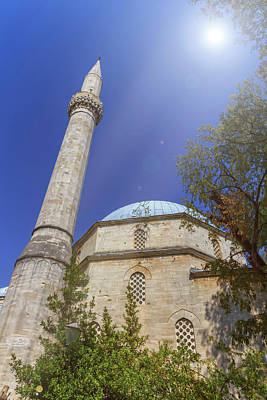 Photograph - Karadoz Bey Mosque, Mostar, Bosnia And Herzegovina by Elenarts - Elena Duvernay photo