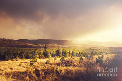 Photograph - Karanja Dreamy Outback Landscape by Jorgo Photography - Wall Art Gallery