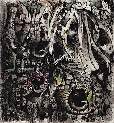 Kara's World Art Print by Rachel Christine Nowicki