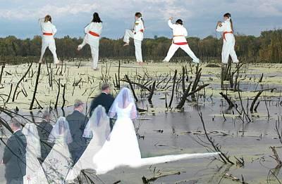 Photograph - Karate Wedding by John Gerstner