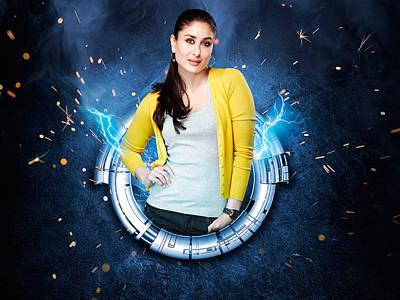 Kareena Kapoor Digital Art - Kareena Kapoor 18 by Emma Brown