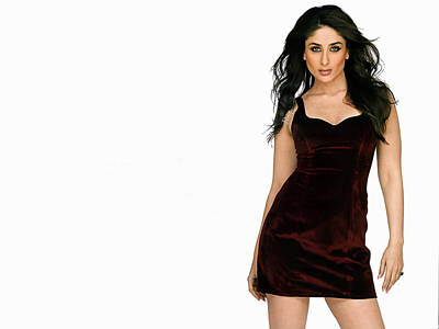 Kareena Kapoor Digital Art - Kareena Kapoor Hq Actress by Emma Brown