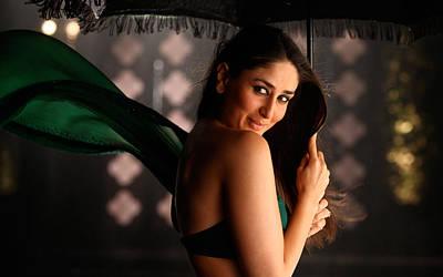 Kareena Kapoor Digital Art - Kareena Kapoor In Bodyguard by Emma Brown