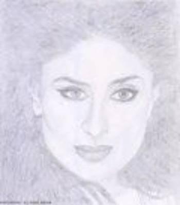 Kareena Kapoor Drawing - Kareena Kapoor by Smriti Jaiswal