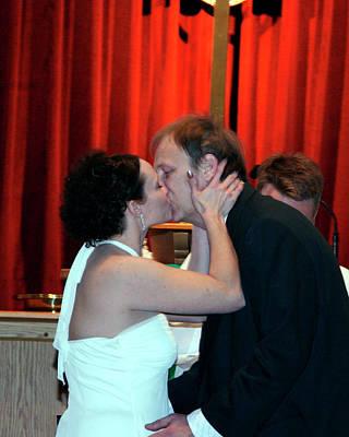 Photograph - Karen Dave Wedding Sample 1 by George Jones