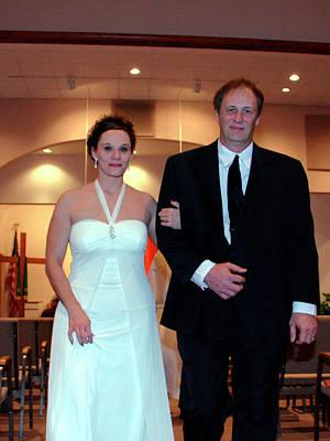 Photograph - Karen Dave Wedding Sample 2 by George Jones