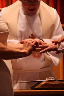 Photograph - Karen Dave Wedding Sample 3 by George Jones