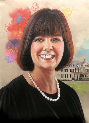 Painting - Karen Pence by Robert Korhonen