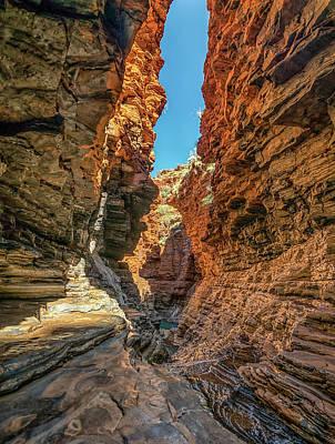 Photograph - Karijini Gorge by Martin Capek