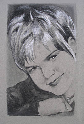 Drawing - Karin Allyson by Suzanne Cerny