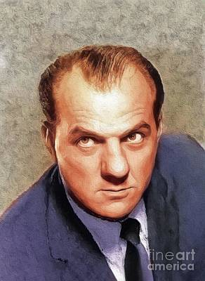 Kitchen Signs Rights Managed Images - Karl Malden, Actor Royalty-Free Image by Esoterica Art Agency