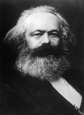 Karl Marx 1818-1883 Art Print