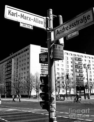 Photograph - Karl-marx-allee by John Rizzuto
