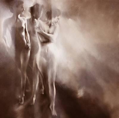 Painting - Karla, Karla Und Karla - Variation 1 by Annette Schmucker