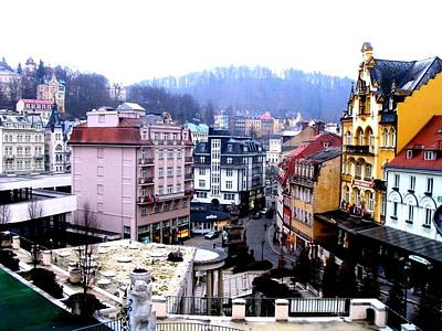Art Print featuring the photograph Karlovy Vary Cz by Michelle Dallocchio